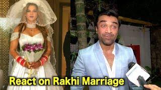 Ajaz Khan Talk About Rakhi Sawant Secret Marriage