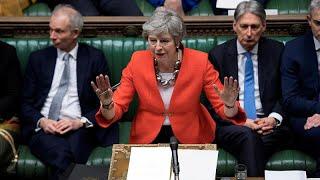EU-Austrittsabkommen wieder abgeschmettert