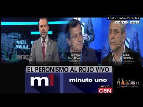 #FábricasParadas- ( programa completo)  Minuto Uno C5N- 22/ 05 /2017