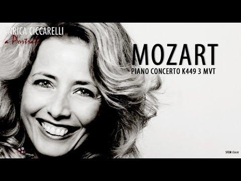 Mozart piano concerto K 449 - Enrica Ciccarelli