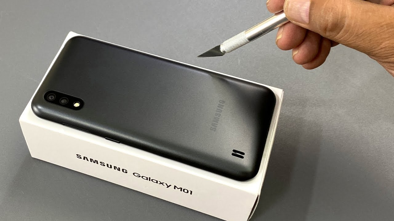 Samsung Galaxy M01 | Unboxing | Camera Test