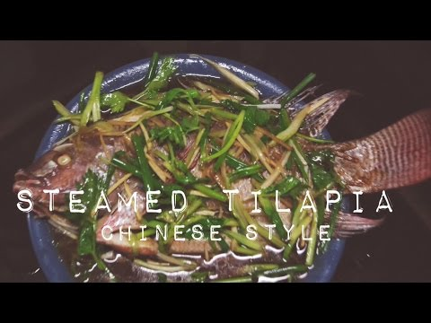 Steamed Tilapia Chinese Style