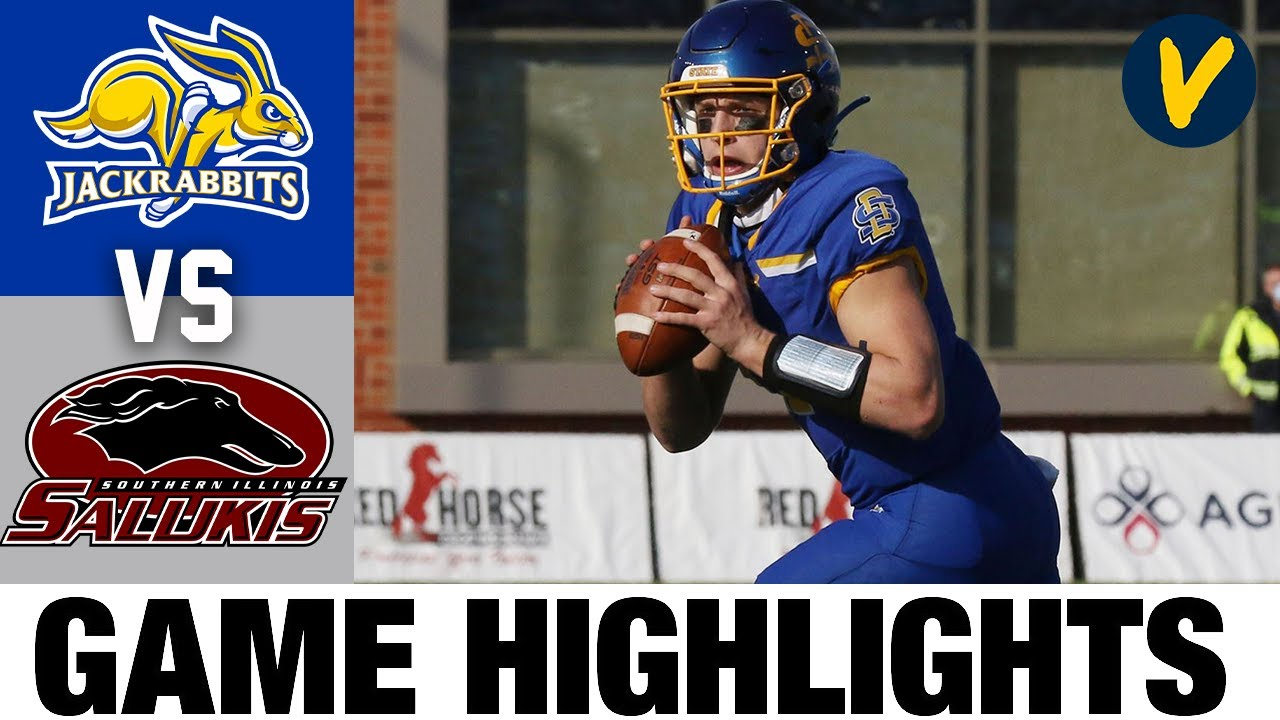 #6 South Dakota State vs #5 Southern Illinois | FCS 2021 Spring College Football Highlights