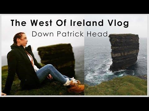 West Of Ireland Travel Vlog (Down Patrick, Co Mayo)