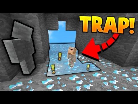 INSANE CAMO TROLLING TRAP! (Minecraft SKY WARS CAMO TROLLING)