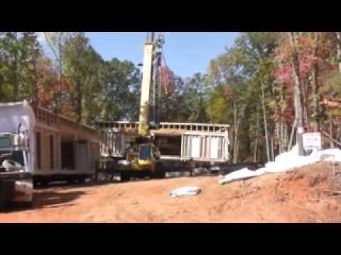 Setting A Modular House