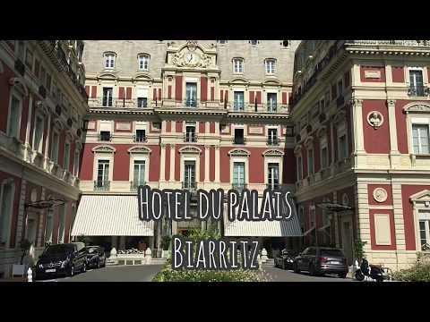 Biarritz; Liu Bolin et Christophe Charbonnel à l'Hôtel du Palais