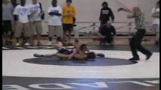 Sophmore Year Wrestling Highlight 103 Lbs