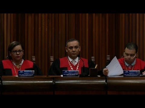 Venezuela: EUA sancionam magistrados do Supremo