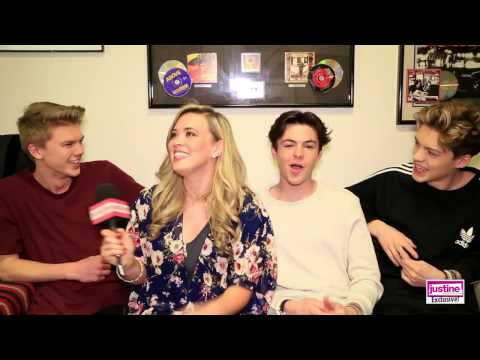 Justine Magazine: Get to Know New Hope Club with Pickup Lines, American Accents & More!