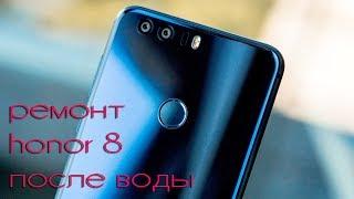 Honor 8 - ремонт ПОСЛЕ ВОДЫ