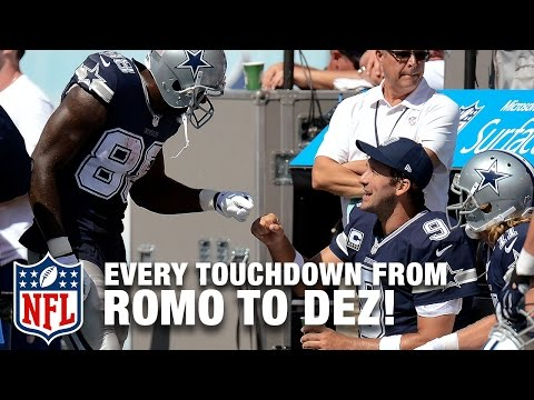 Every Tony Romo to Dez Bryant Touchdown Pass! | Tony Romo Retires | NFL Highlights
