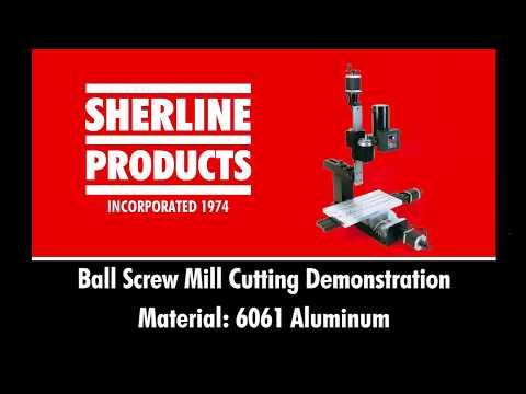 Ball Screw Mill Cutting Demonstration
