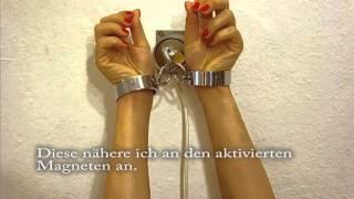Selfbondage Time Lock / Zeitschloss an der Wand m