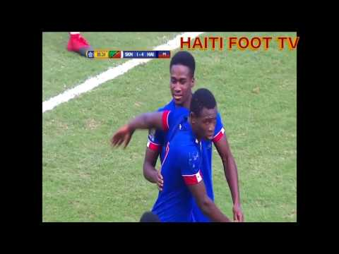 HAITI U20 VS  ST KITTS 2-18-17