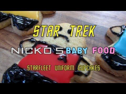 STAR TREK COOKIE MEN - Kids Recipe