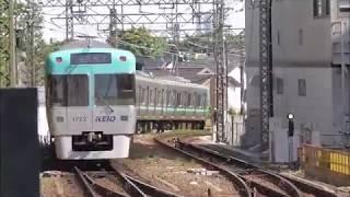 京王井の頭線 1000系1722F編成 吉祥寺駅発車