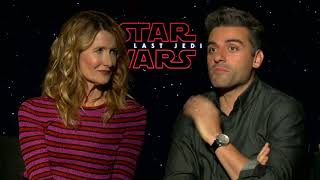 Star Wars cast react to The Last Jedi