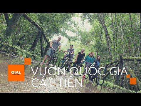 Tour Xe Đạp Băng Rừng | Khám Phá Vườn Quốc Gia Cát Tiên, Đồng Nai | Bàu Sấu | Nam Cát Tiên | Vắt