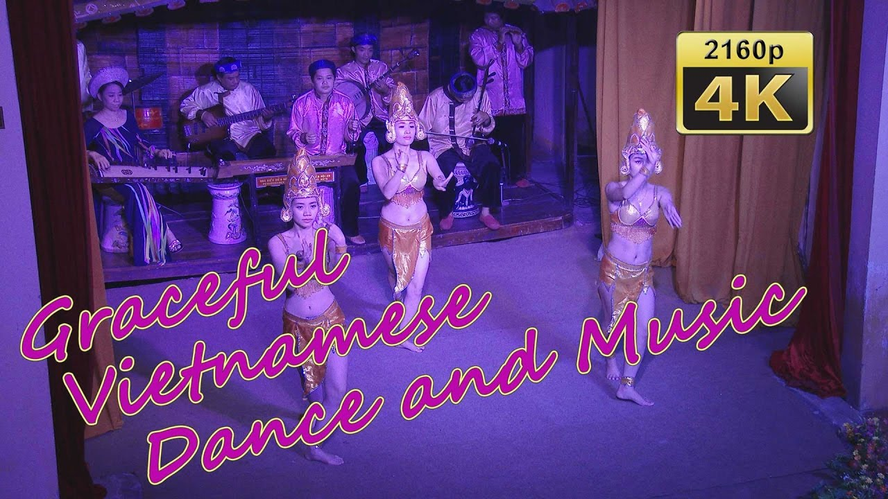 Vietnamese Dance and Music in Hoi An - Vietnam 4K Travel Channel