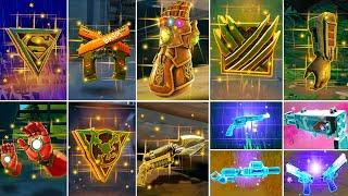 Evolution of All Mythic Bosses, Mythic Weapons & Exotic Items (Fortnite Season 1 - Season 17)