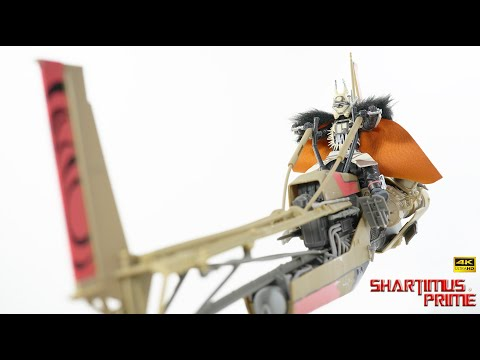 Star Wars Black Series Enfys Nest's Swoop Bike Solo: A Star Wars Story Movie 4K Action Figure Review