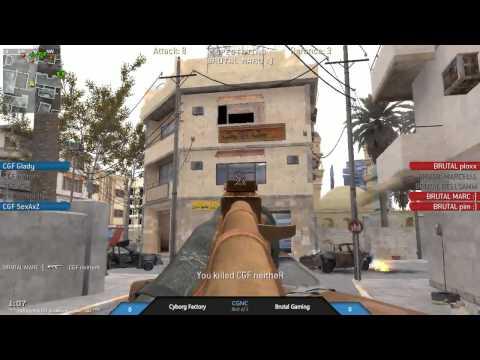 [promod] Cyborg Factory vs Brutal Gaming Athens Elysium Cup (mp_strike, Bo3)(1/2)