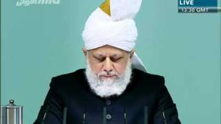 (Urdu) Friday Sermon 14th Jan 2011 Holy Prophet's (sa) attribute of forgiveness