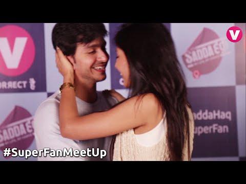 Romantic SanDhir dance at #SaddaHaq #SuperFanMeetUp