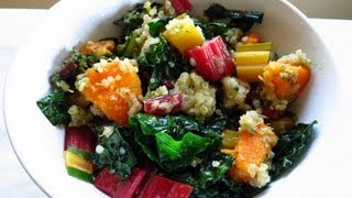 2nd Installment! Cooking With Chronic Illness: Quinoa & Veggies (& More Of My Story)