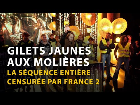 GILETS JAUNES AUX MOLIÈRES : LA SÉQUENCE CENSURÉE PAR FRANCE 2