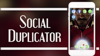 Social Duplicator  Como tener 2 Whatsapp, Facebook, Instagram 2015 Cydia Tweak iOS 8
