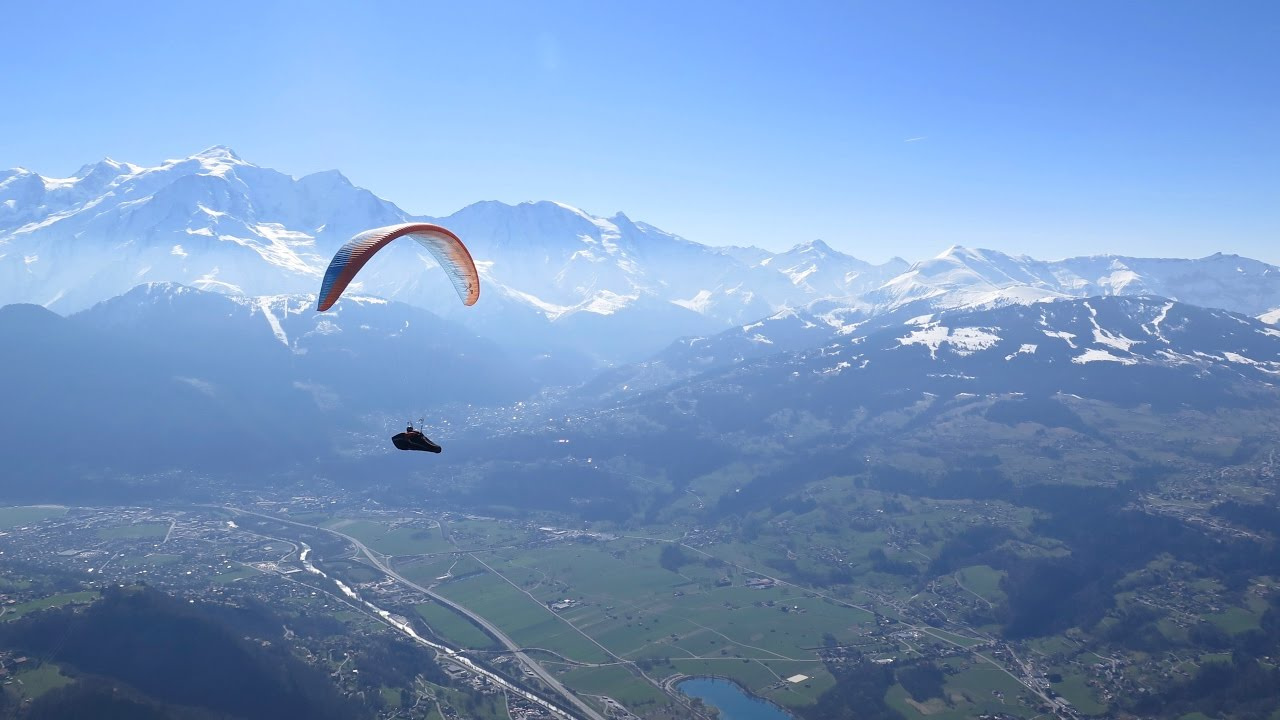 200km FAI triangle from Chamonix | Paragliding XC flight