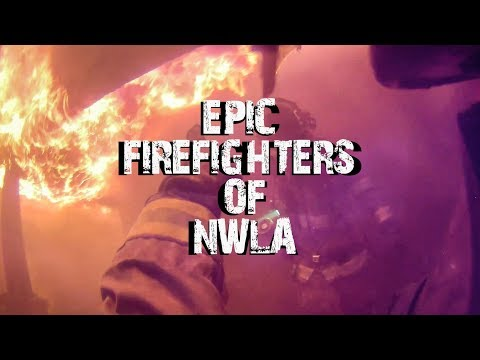 EPIC Firemen Of NWLA In ACTION!!