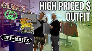 Buying a High Budget Spring/Summer Outfit! (Gucci, Off White, Burberry)
