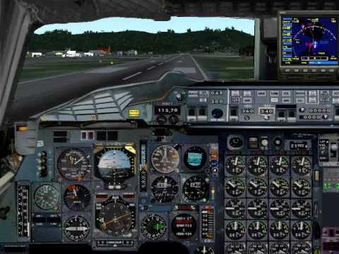 Boeing 2707-200 Landing @TNCM