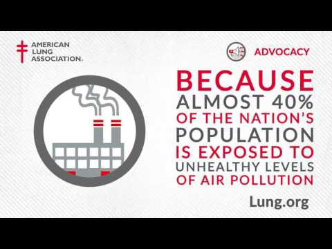 American Lung Association: Advocacy