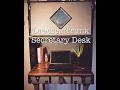 Dresser Trunk Secretary Desk