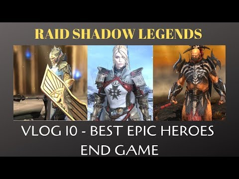 Raid Shadow Legends: SKNOVA Vlog 10   Best Epic Heroes (Part 1)