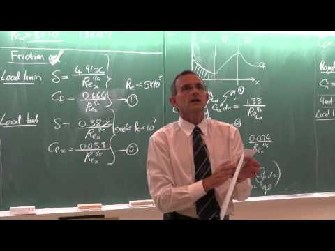 Lecture 24 (2014). External forced convection (1 of 3)