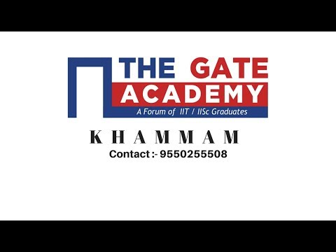 Civil Engineering Post GATE Guidance for M Tech in IITNIT & PSU jobs - THE GATE ACADEMY KHAMMAM