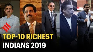 Forbes: Top-10 Richest Indians 2019   Mukesh Ambani is the Richest Indian