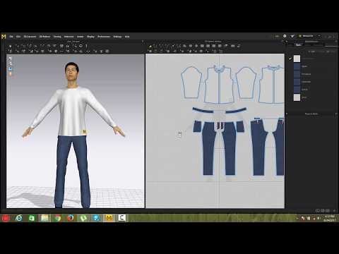 How To Use Marvelous Designer 7 -basic to advance