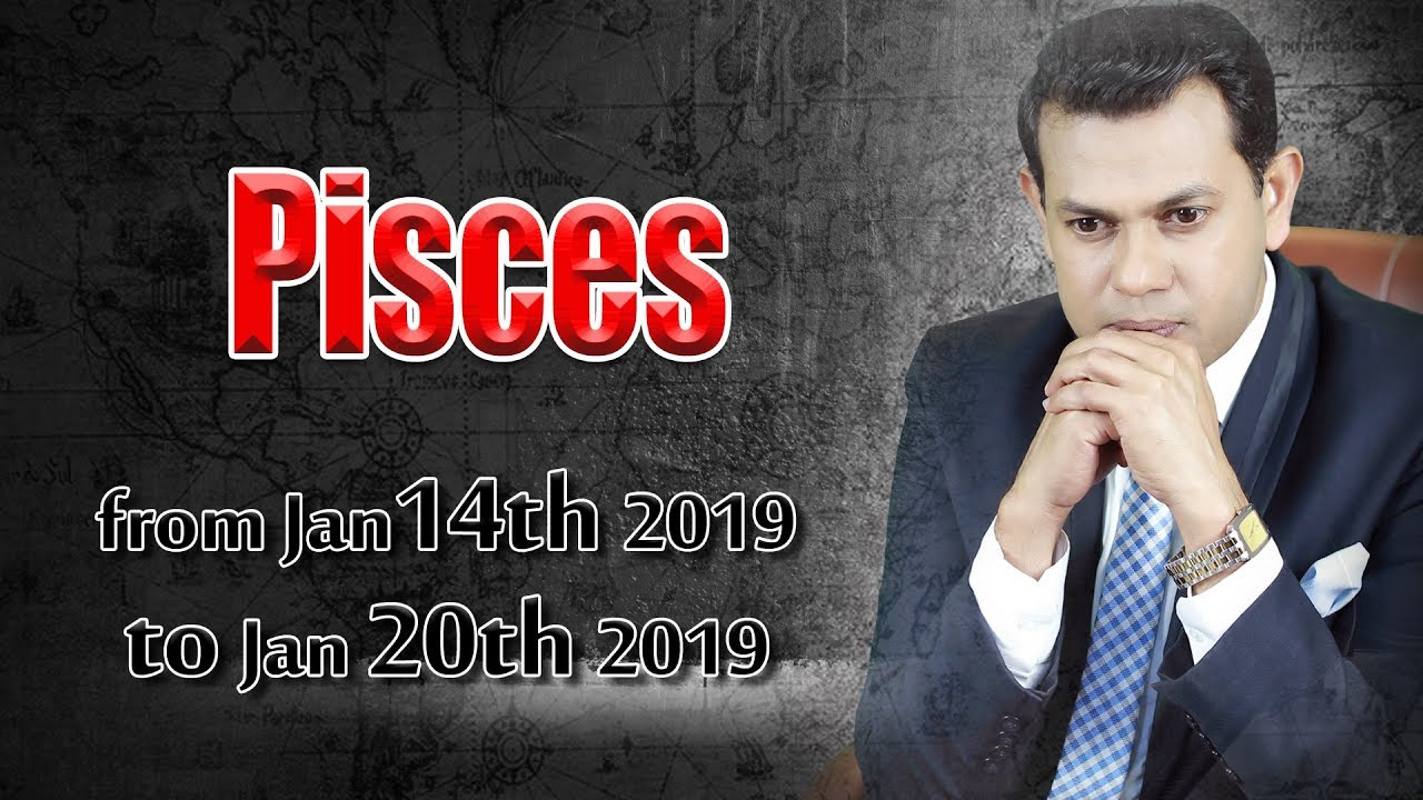 Pisces Weekly Horoscope from Monday 14th to Sunday 20th January 2019