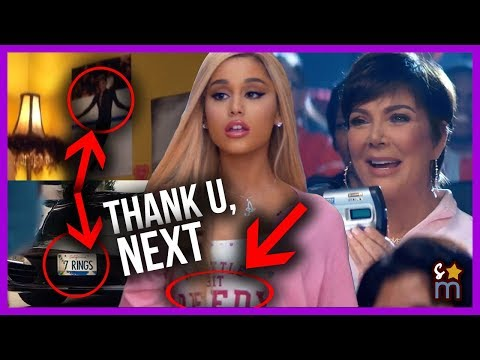 thank u, next : All The Hidden Messages, References & Cameos in Ariana Grande's Music Video