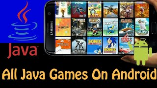 How to Download Unlimited Java Games on Android | 'Without ppsspp' | 'No Root'