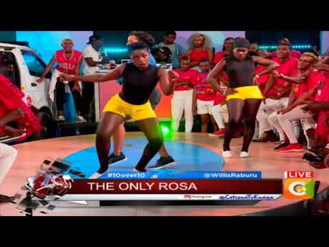 Rosa riding high on stage #10Over10