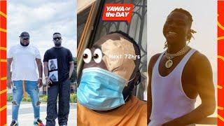 #YawaOfTheDay: Stonebwoy Attacks Sarkodie's Manager, Angeltown?