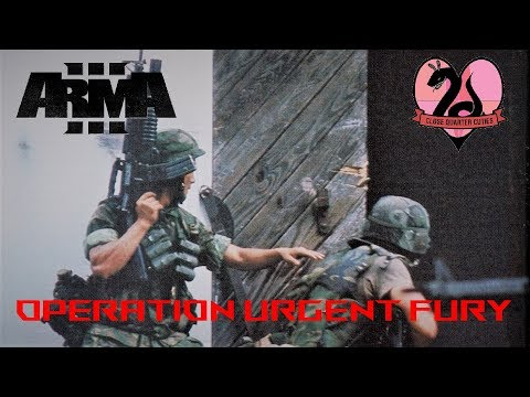 ARMA 3 w/ CQT- Operation Urgent Fury