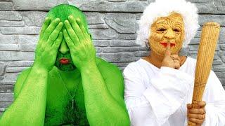 Granny VS Hulk